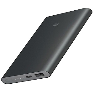 Мобильный аккумулятор Xiaomi Mi Power Bank 2 slim 10000mAh black VXN4176CN