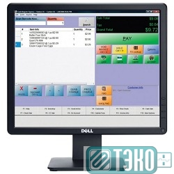 Монитор 17' Dell E1715S Black LED, 1280x1024, 5ms, 250 cd/m2, 800:1, D-Sub, DP (1715-8107)