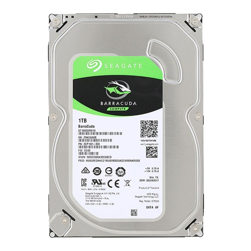 Жесткий диск 1TB Seagate (ST1000DM010) {Serial ATA III, 7200 rpm, 64mb buffer}