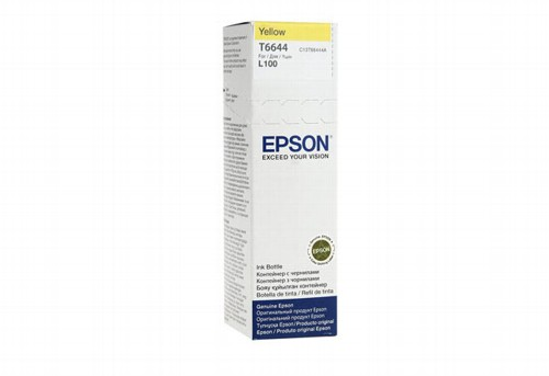 Чернила Epson L100/L110/L200/L210/L300/L355 (O) C13T66444A, yellow, 70ml