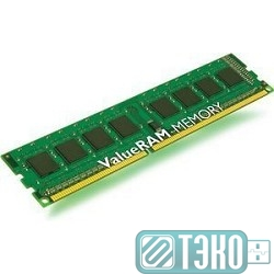 Модуль памяти DDR3 DIMM 4GB PC3-10600, 1333MHz Kingston [KVR13N9S8/4(SP)] CL9