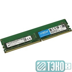 Модуль памяти DDR4 DIMM 8GB Crucial CT8G4DFS824A {PC4-19200, 2400MHz, SRx8}