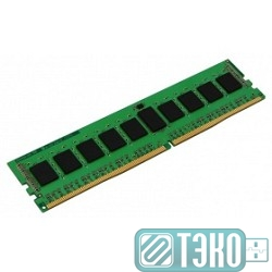 Модуль памяти DDR4 DIMM 8GB Kingston KVR24R17S4/8 {PC4-19200, 2400MHz, ECC Reg, SR4, CL17}