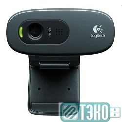 Web-камера Logitech HD Webcam C270, USB 2.0, 1280*720, 3Mpix foto, Mic, Black