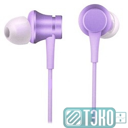 Наушники Xiaomi Mi In-Ear Headfones Basic Purple/фиолетовый [ZBW4357TY]