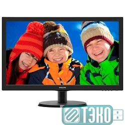 Монитор 21.5' PHILIPS 223V5LSB (10/62) Glossy-Black TN LED 5ms 16:9 10M:1 250cd