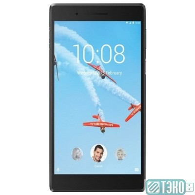 Планшет Lenovo Tab 7 TB-7504X [ZA380077RU] Black {7' (1024x600) IPS/MediaTek MT8735B/1GB/16GB/3G/GPS/WiFi/BT/Android 7