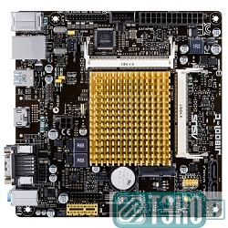 Мат.плата ASUS J1800I-C RTL {SO-DIMM DDR3,PCI-E,SATAII,GBL,8ch Audio,D-Sub, HDMI,mini-ITX}
