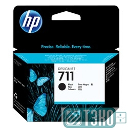 Картридж HP CZ133A №711, Black {Designjet T120/T520, Black (80ml)}