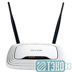 Сетевое оборудование TP-Link TL-WR841N 300Mbps Wireless N Router, Atheros, 2T2R, 2.4GHz, 802.11n
